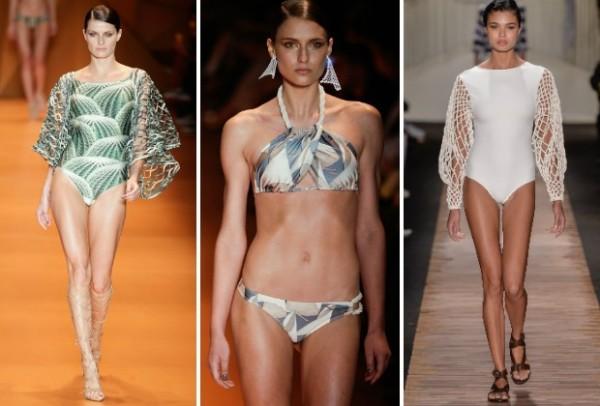 desfile da moda praia verão 2016