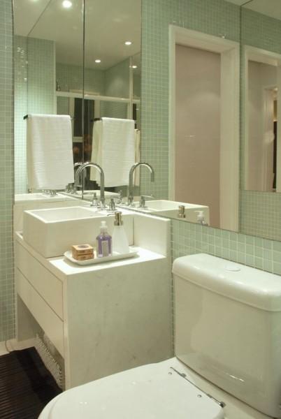 decorar um banheiro pequeno : Simplesmente Sofisticada: O segredo para conseguir decorar ...