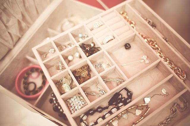 caixa de jóais