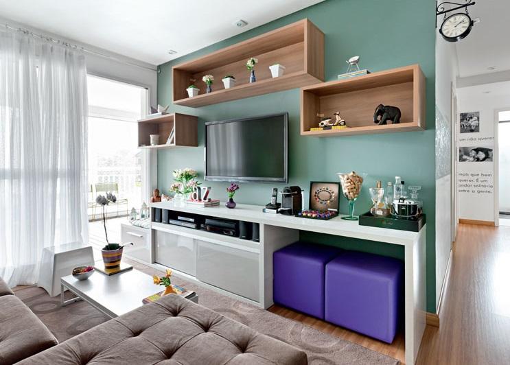 8 truques para decorar ambientes pequenos site de beleza for Decorar apartamento pequeno fotos
