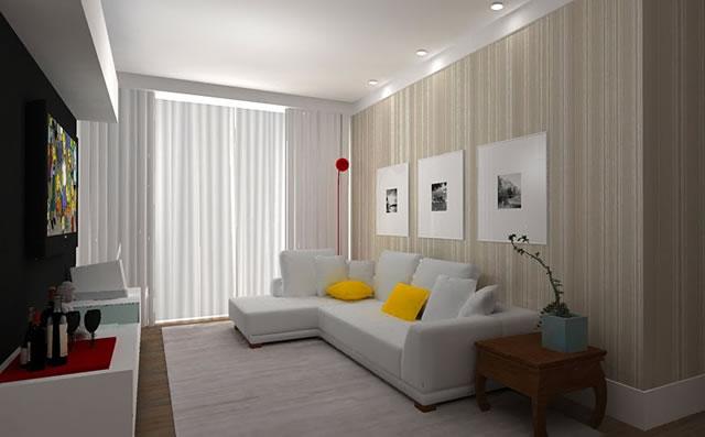 Papel de parede como escolher o ideal para sua decoração