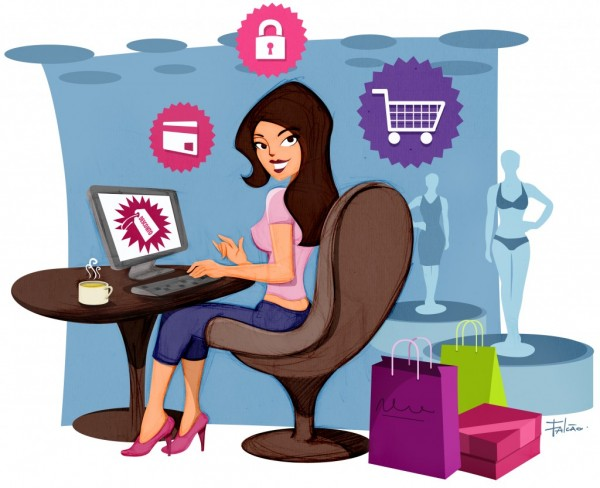 Comprar roupa feminina pela internet
