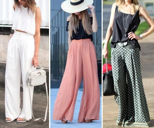 Look com calça Flare ou Pantalona
