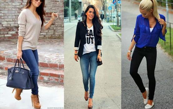 Resultado de imagem para looks calça jeans