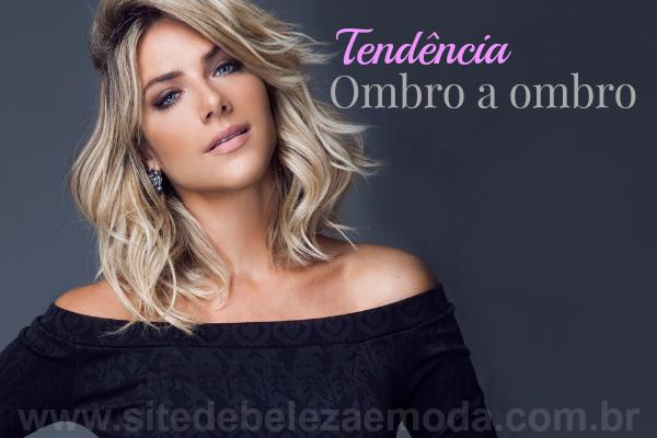 Tendência Verão 2015 2016  Decote Ombro a Ombro d8c8c71583