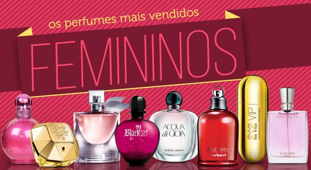 Os 10 perfumes femininos mais vendidos atualmente