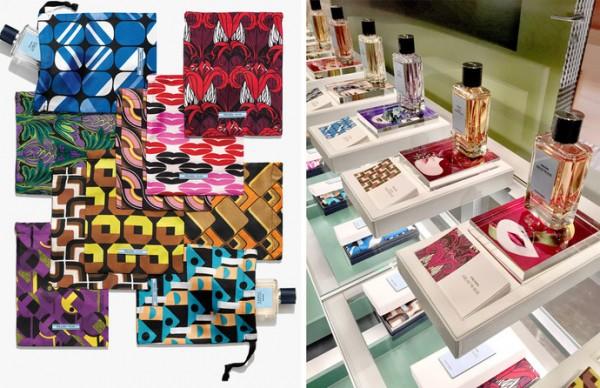Lançamento de perfumes Prada