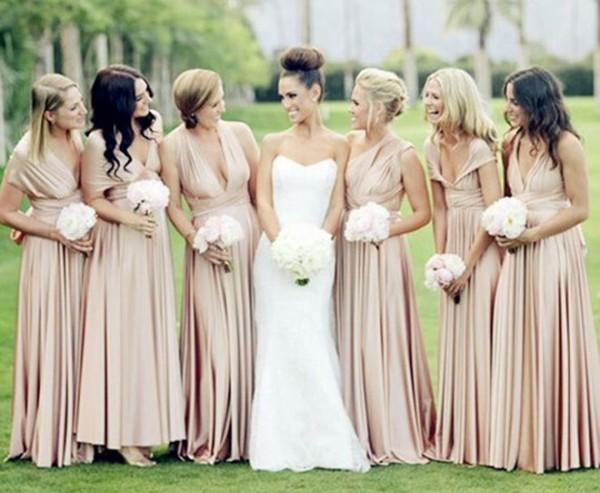 Modelos de vestidos longos para casamento