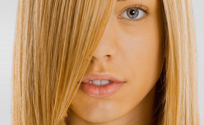 dicas para alisar cabelos loiros