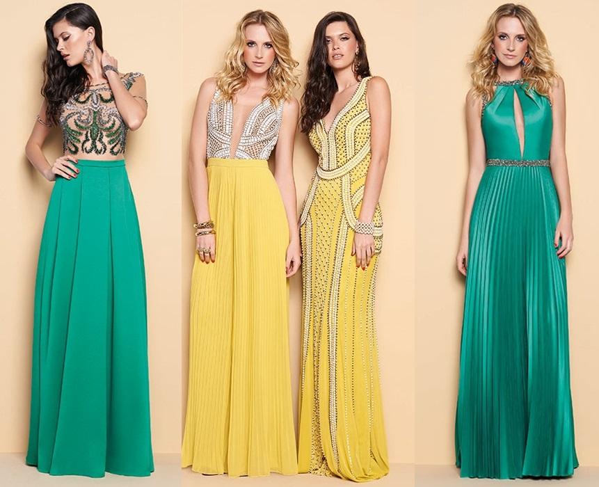 Vestidos longos Variedades