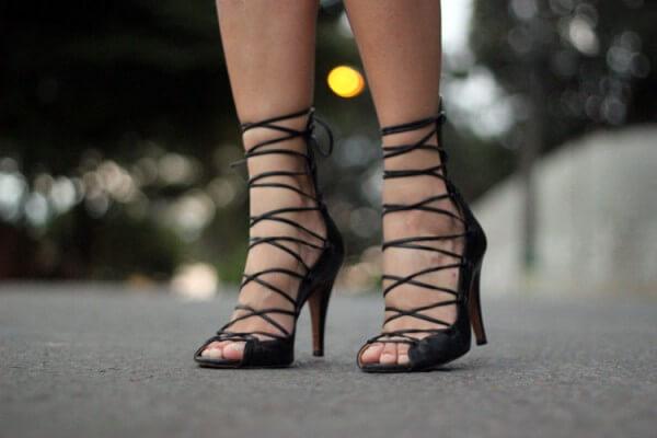 sandália gladiadora