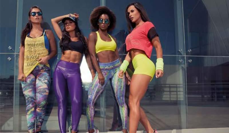 Resultado de imagem para moda fitness feminina 2018