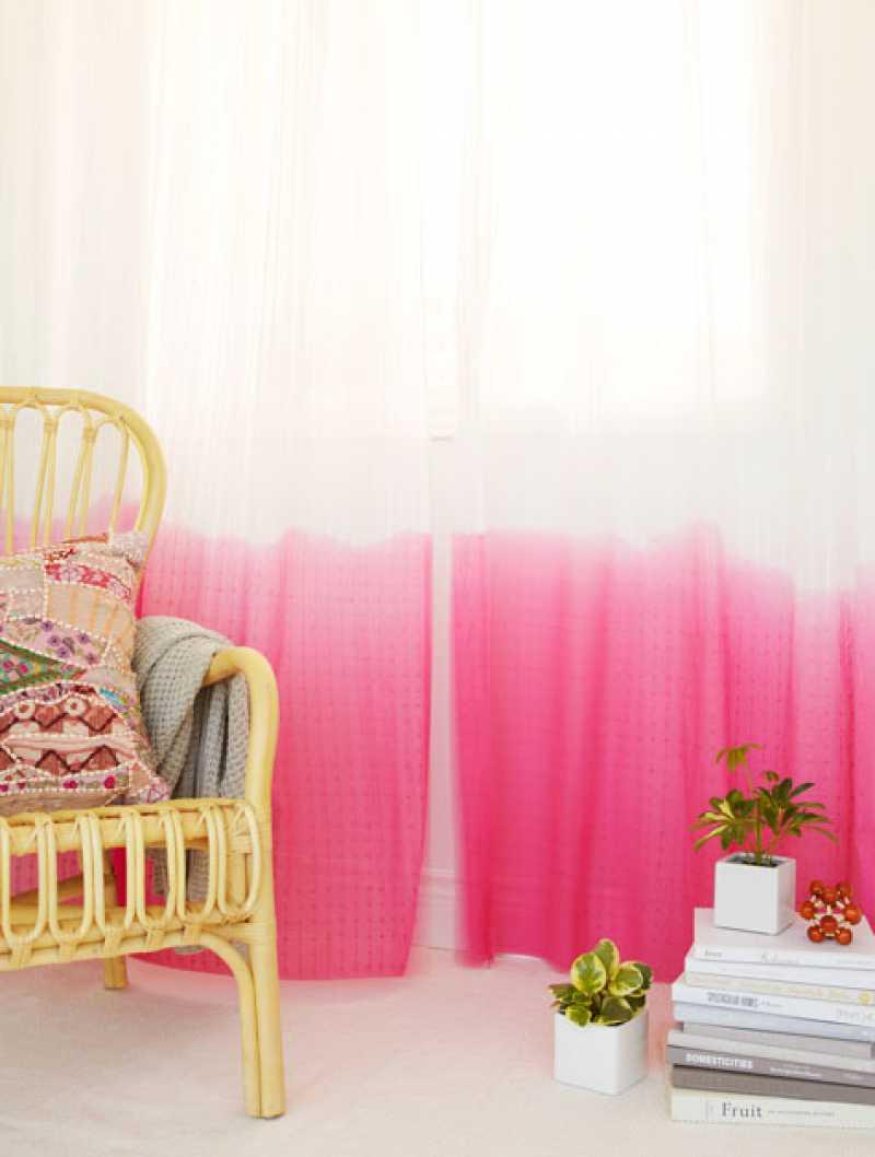 decoração com cortina