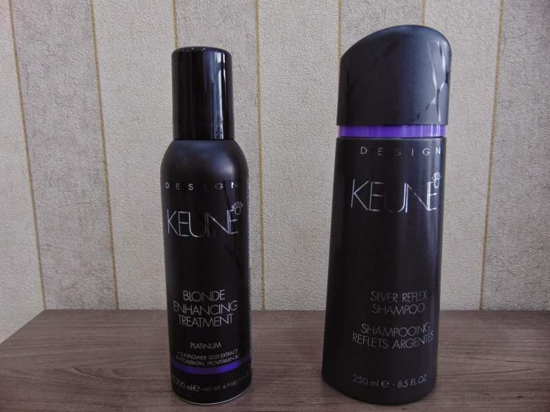shampoo desamarelador da Keune