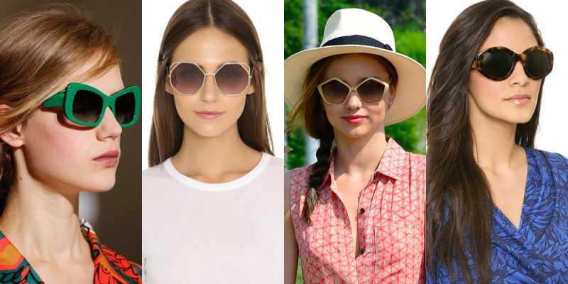 Óculos de sol Geométricos é uma tendência para 2016