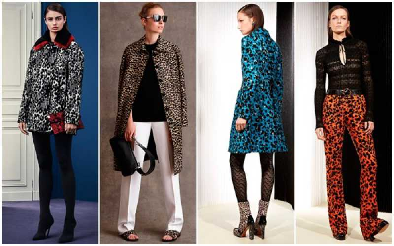 Estampa animal print na moda inverno 2016