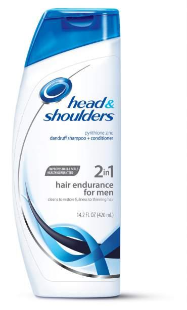Head & Shoulders está no topo dos shampoos mais vendidos
