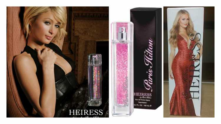 Perfume feminino sedutor: Heiress, Paris Hilton