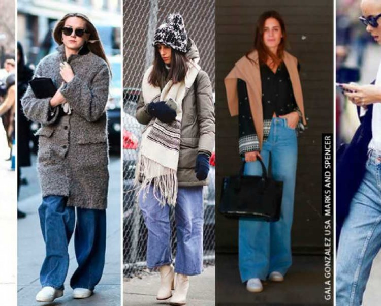 Calça Jeans Oversized