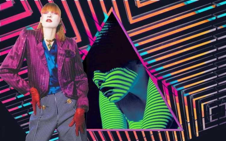 Os anos 80 estão sempre voltando para o foco da moda e a tendência resgatada dessa vez é a do colorido digital