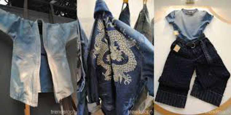 """Nas tendências da moda primavera/verão 2017 o jeans chega com um """"banho"""" de Califórnia."""