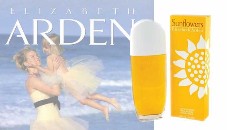 Sunflowers by Elizabeth Arden era um perfume insanamente popular e um dos favoritos em todo o mundo durante a década.