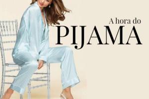 O pijama virou tendência e já está ganhando o street style