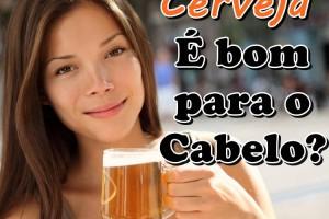 Benefícios da cerveja para o cabelo