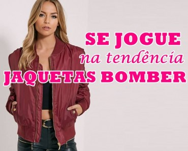 jaquetas bomber