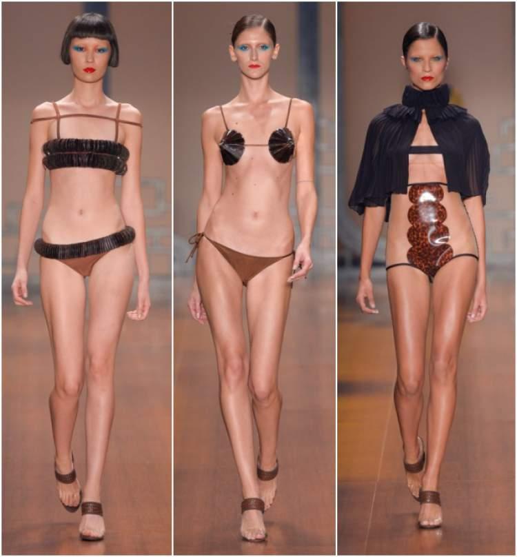 Modelos de biquíni que são tendências na moda verão 2017