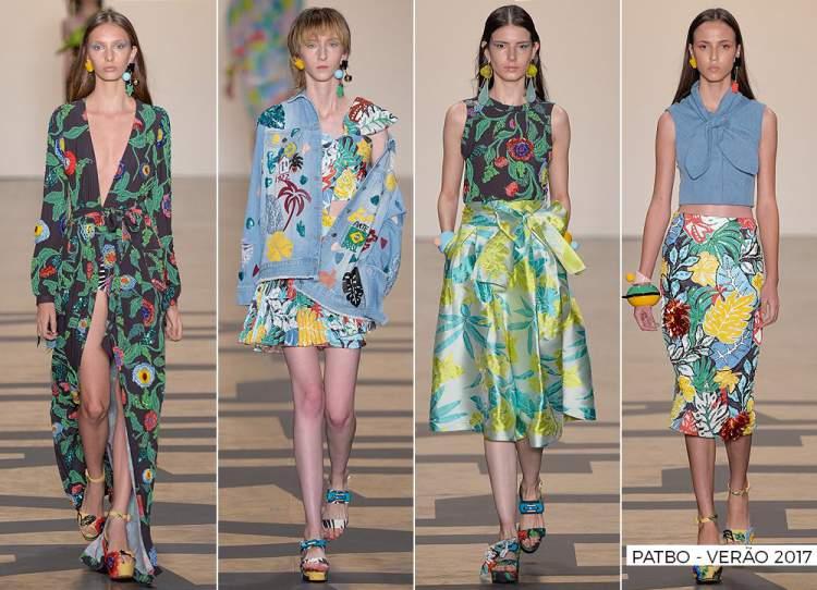 Estampa Floral é uma das tendências da moda verão 2017