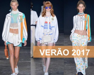 Desfile de moda verão 2017