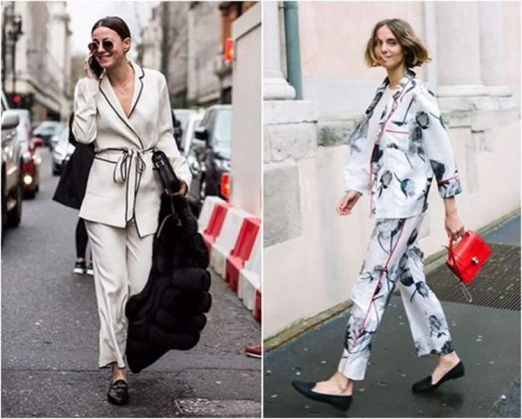 Pijama na moda rua