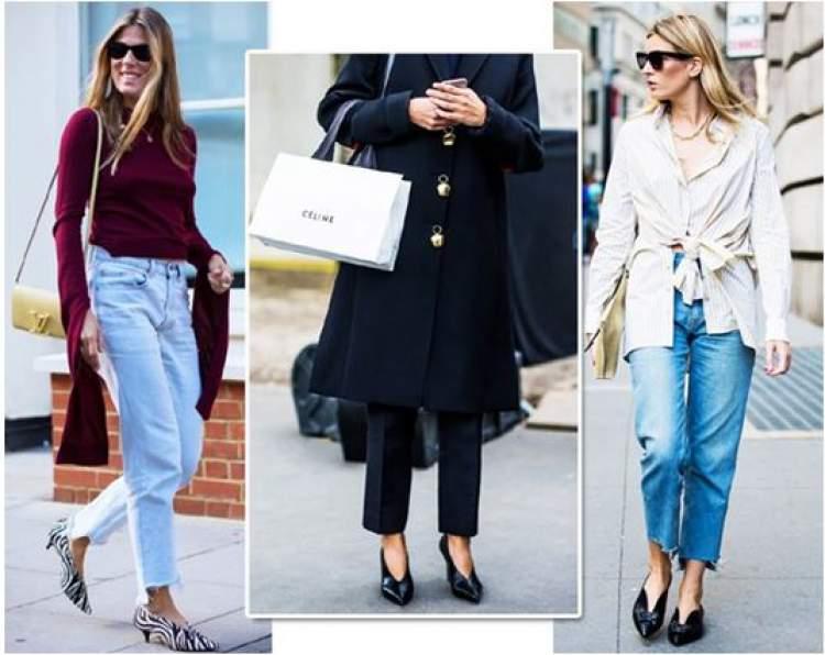 Fashionistas já desfilam pelas ruas com o V-neck