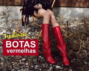 aposte nas botas vermelhas