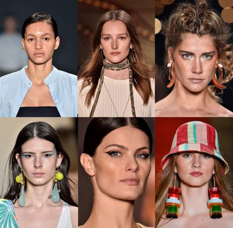 Se depender do estilista da Chanel, os penteados serão mais comportados, bem baixos e divididos de lado.