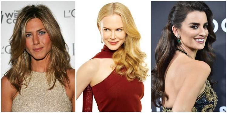 fotos de famosas com cabelos ondulados