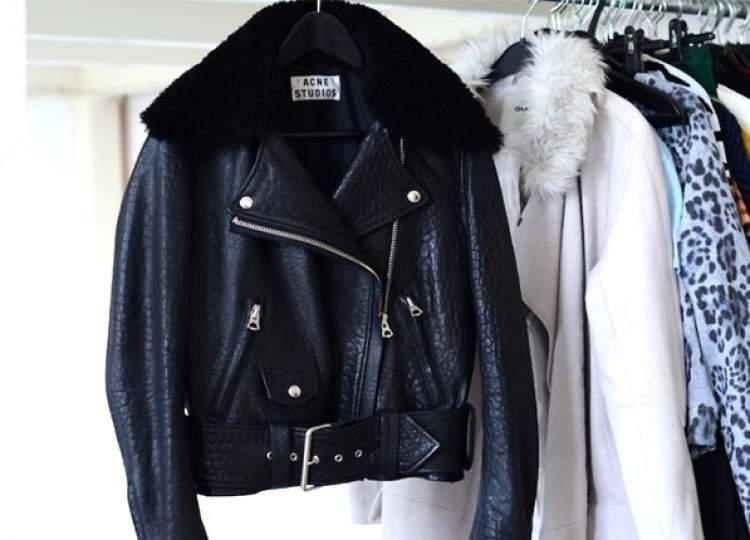 como lavar a jaqueta de couro