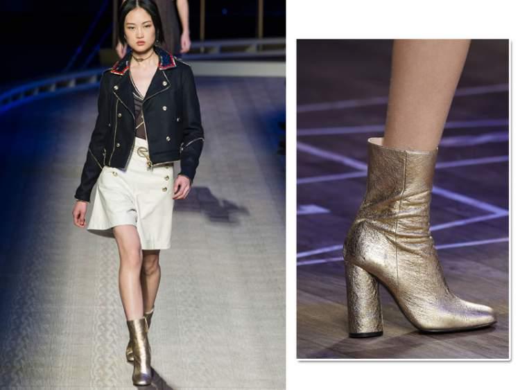 Sapatos Metálicos - Deixe Seus Pés Brilharem com a Tendência Lançada na NYFW Verão 2016/2017