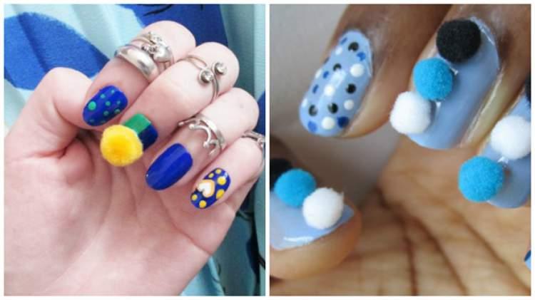 tendência em nail art