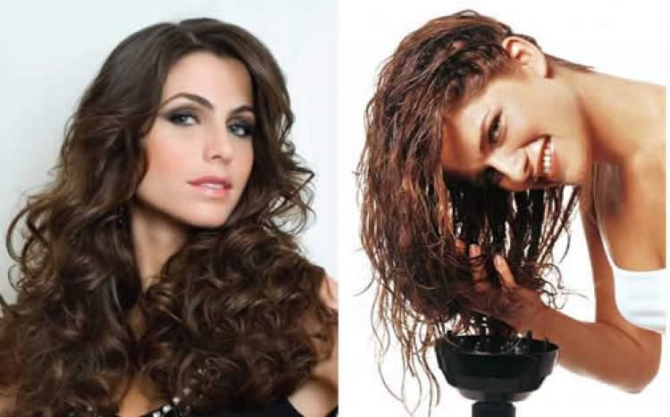 como secar os cabelos ondulados