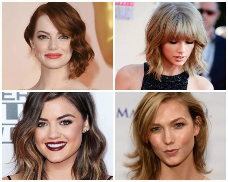 cortes assimétricos para dar mais volume aos cabelos finos