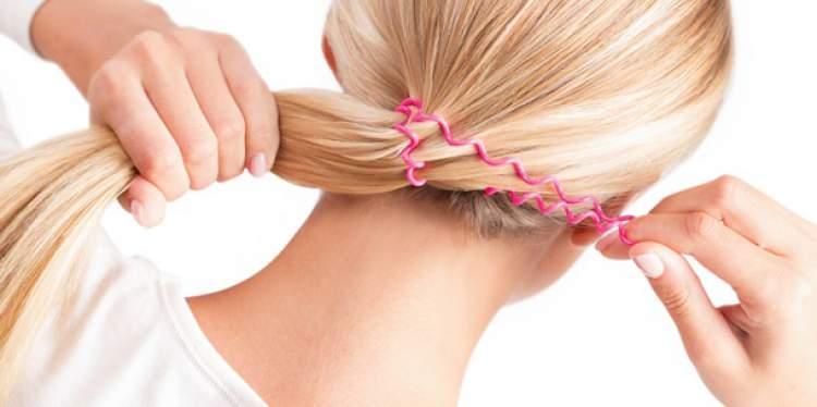 Elástico pode danificar os fios do cabelo
