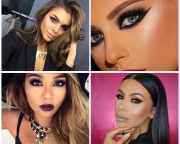 fotos e sugestões de maquiagem para festa