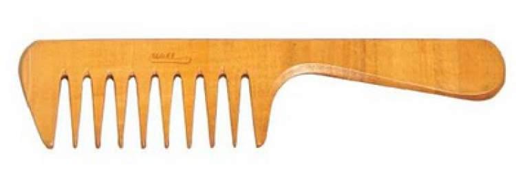 pente largo de madeira
