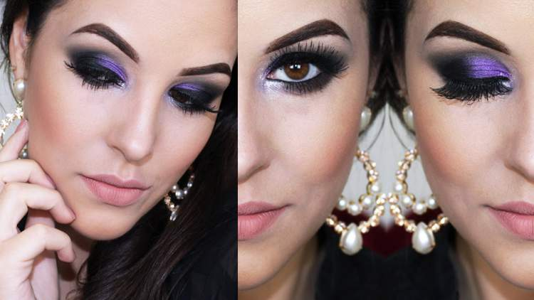 Dicas de Maquiagem Para Balada com Olho Esfumado