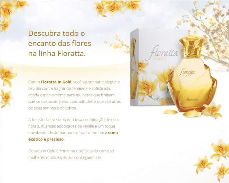 Floratta in Gold, O Boticário é um dos melhores perfumes para o dia a dia