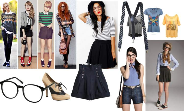Look nerd/fashion para noite