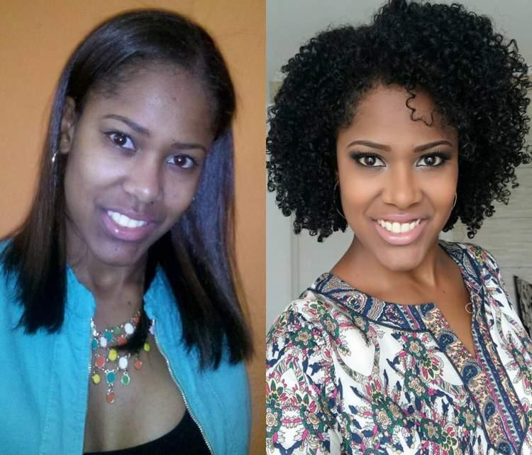Antes e Depois da Transição Capilar