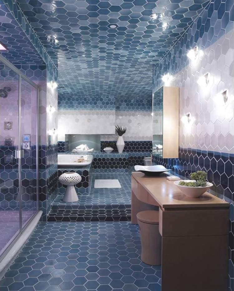 6 Ideias Para Decoração de Banheiros Pequenos para Você se Inspirar  Site de -> Banheiro Pequeno Decorado Com Pastilhas